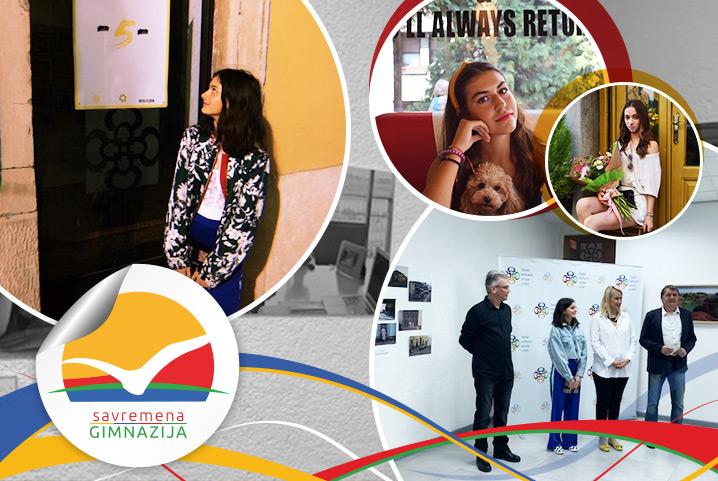 Talenti savremenih gimnazijalaca: Fotograf Elena Taševski predstavila svoje radove u Beogradu, pa otvorila izložbu u Puli