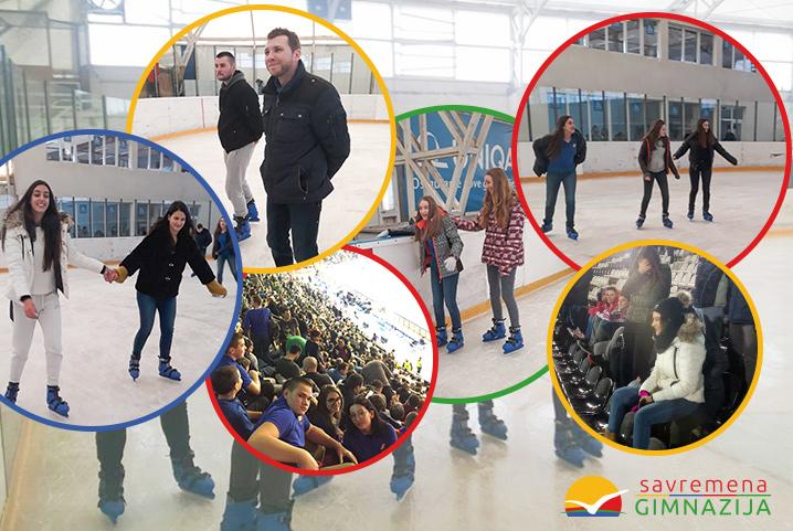 Savremeni gimnazijalci pokazali sportski duh na fudbalu, košarci i klizanju