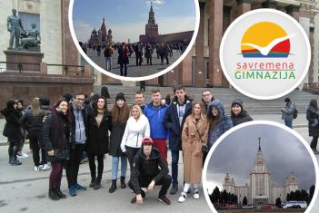 Prva maturantska ekskurzija u Rusiji: Učenici očarani Moskvom i Sankt Peterburgom