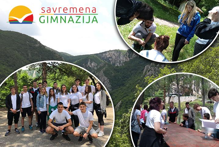 Savremeni trećaci na terenskoj nastavi posetili Lazarev kanjon i pećinu, Brestovačku banju i Borsko jezero