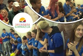 Poseban dan u Savremenoj: Svečano ispraćena prva generacija maturanata Savremene gimnazije