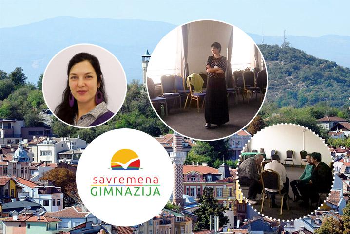 Profesorka građanskog vaspitanja u Savremenoj Ana Brkić učestvovala na festivalu psihodrame u Plovdivu