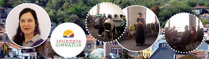 Profesorka u Savremenoj Ana Brkić na festivalu u Plovdivu