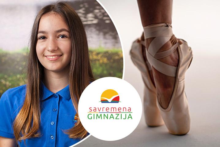 """Izuzetna postignuća savremene balerine Mie Šaljić: """"Za lepotu same umetnosti i igre disciplinovano i fokusirano vežbam svaki dan"""""""