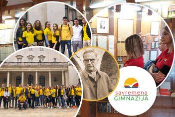 Od Karađorđevića do Andrića: Savremeni gimnazijalci u septembru bili u muzeju, bioskopu i pozorištu, a stigli su i do dvora