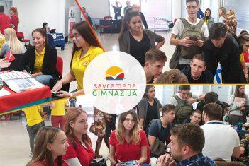 Savremeni gimnazijalci posetili Međunarodni obrazovni sajam