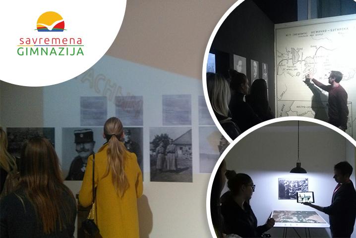 Savremeni gimnazijalci posetili Istorijski muzej