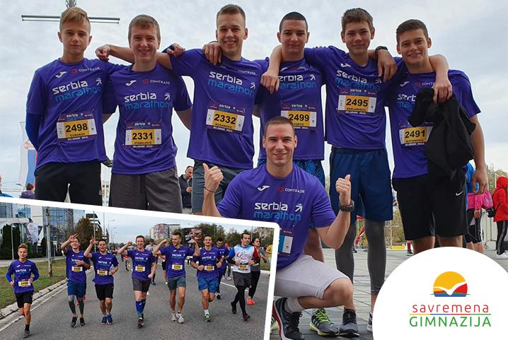 Savremeni maratonci osvojili medalju na prvom Comtrade Serbia Marathonu