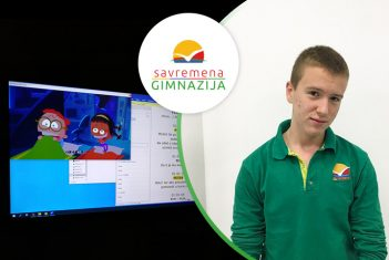 NOVA SAVREMENA PRIČA: Aleksa Stanilović pozajmljuje glas omiljenim likovima iz crtanih filmova