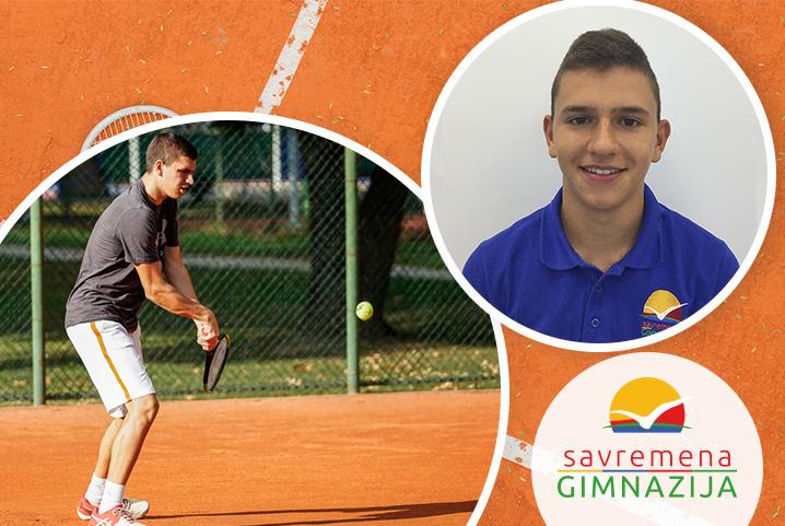 Upoznajte Jovana Slijepčevića – profesionalnog tenisera i odličnog učenika