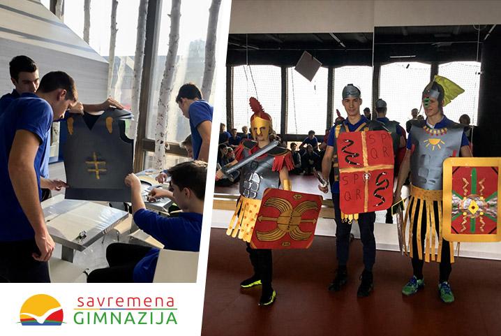 Kreativni časovi u Savremenoj: Kako najbolje dočarati rimskog vojnika?