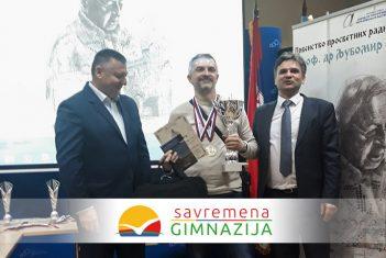 Profesor Savremene i FIDE majstor Draško Beguš prosvetni prvak Srbije u šahu za 2020. godinu