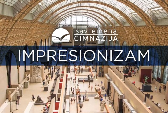 Učenici Savremene vas uče: O impresionizmu u slikarstvu