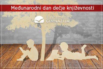 Savremeni gimnazijalci i u vanrednim uslovima obeležili Međunarodni dan dečje književnosti