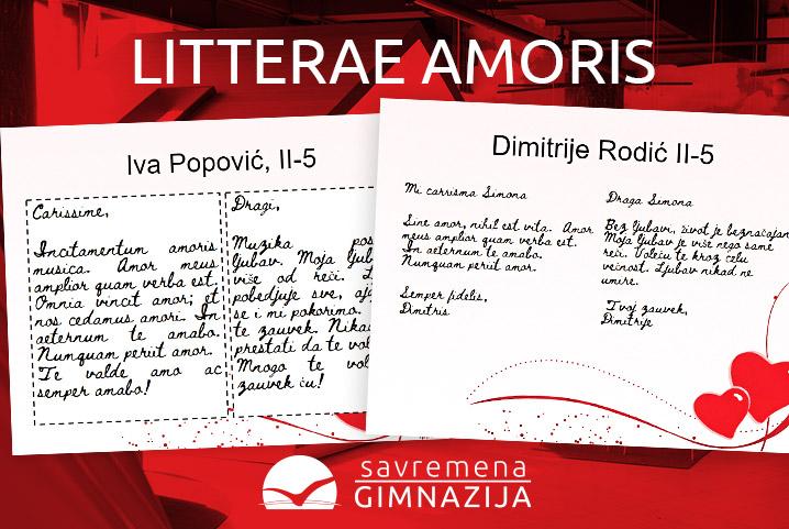"""""""Litterae amoris"""" – ljubavna pisma na času latinskog"""