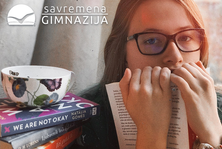 Učenici Savremene druže se sa knjigom i tokom vanrednog stanja