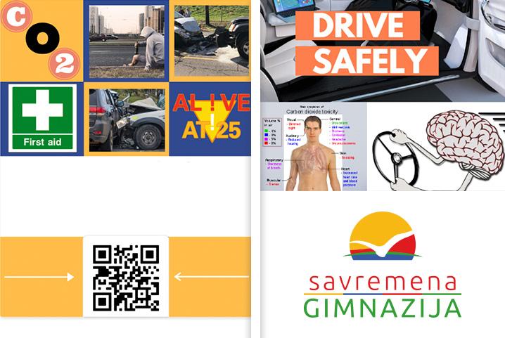 Interdisciplinarni projekat savremenih gimnazijalaca: O bezbednoj vožnji