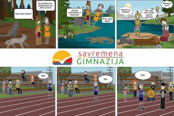 Savremeni gimnazijalci pretvorili latinske izreke u stripove