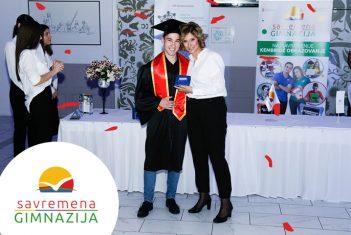 Svečana dodela diploma za učenike Savremene