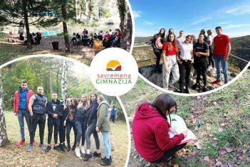 Uzbudljiv dan na terenskoj nastavi za savremene trećake: Pozdrav iz Lazarevog kanjona!