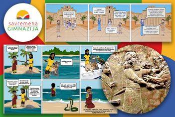 """Zanimljiva promišljanja i kreativni radovi savremenih gimnazijalaca inspirisani """"Epom o Gilgamešu"""""""