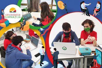 """Savremeni gimnazijalci učesnici projekta """"InnoSchool"""""""