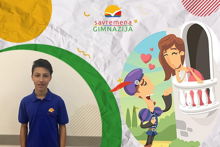 Savremeni gimnazijalac Uroš Tirnanić osvojio prvo mesto na literarnom konkursu