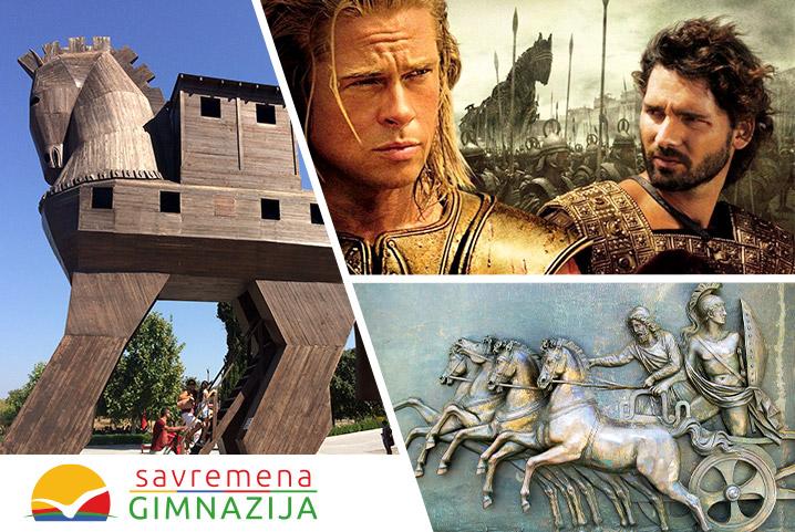 Savremeni gimnazijalci izveštavaju o Trojanskom ratu