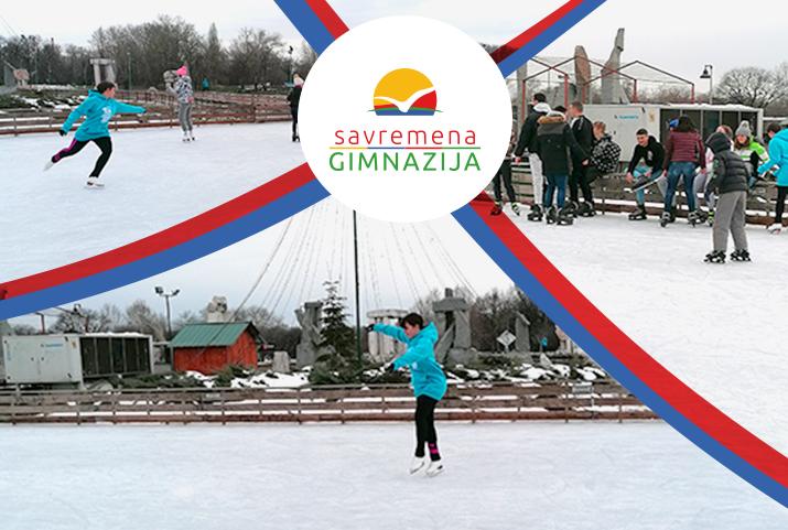Savremeni gimnazijalci proveli zimski sportski dan na Adi Ciganliji