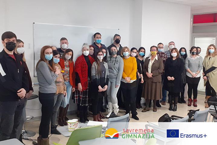 Savremena gimnazija učestvuje u Erasmus+ programu Evropske unije